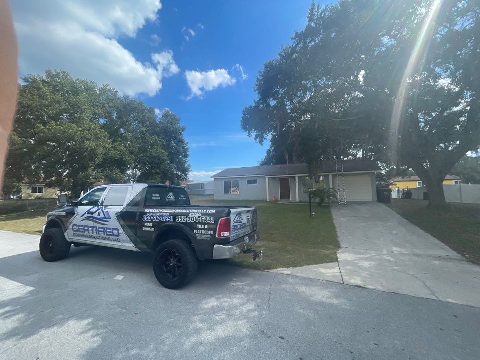 Ocala, FL - We are doing a six month post install inspection on this property in Silver Spring George cilla Ocala