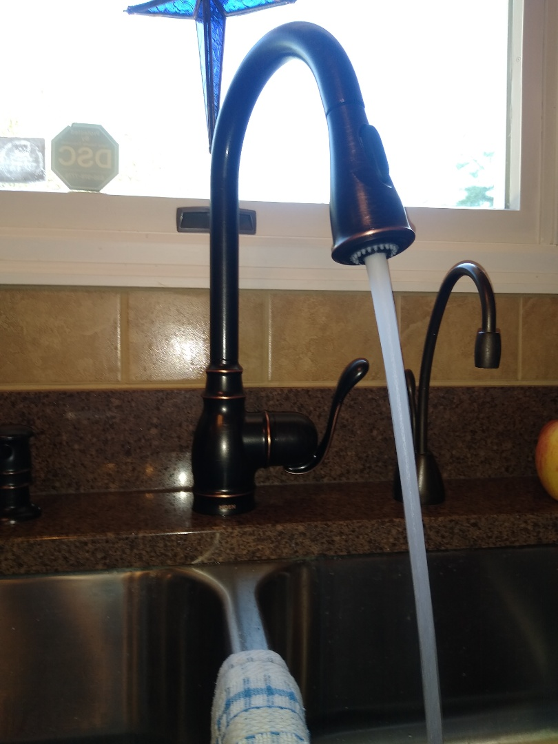Chesterfield, MO - Kitchen faucet