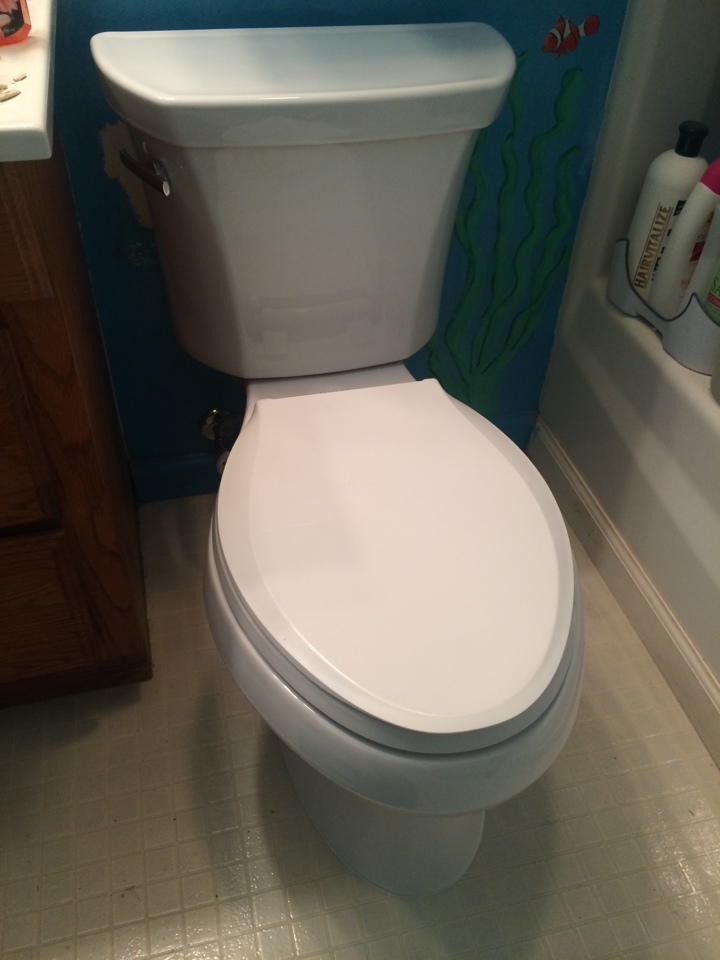 St. Peters, TX - New toilet