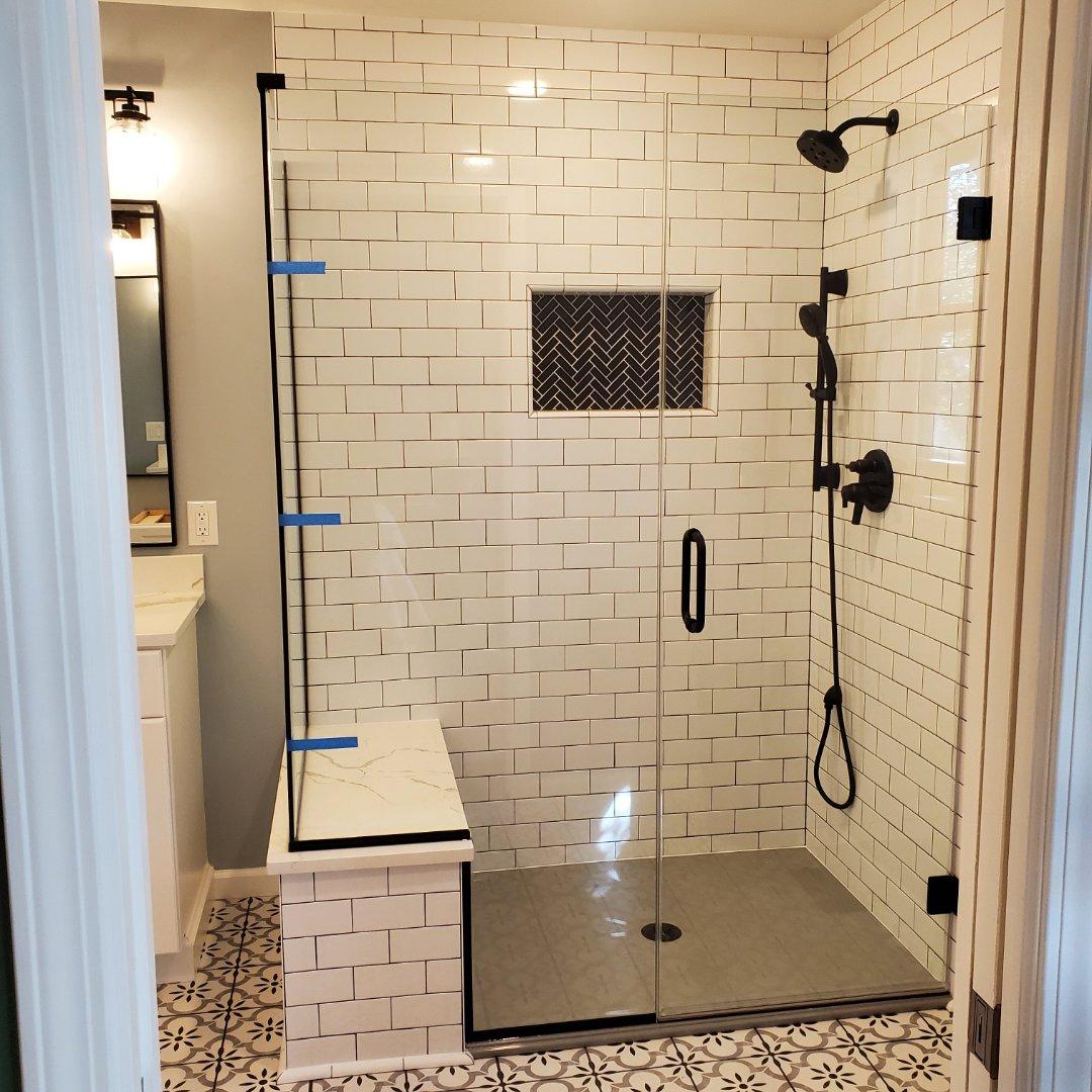 Cottleville, MO - Shower enclosure install