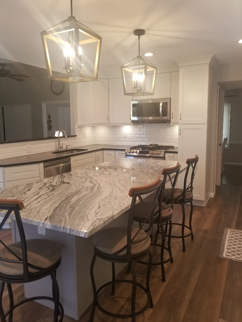 St. Louis, MO - Finish of kitchen remodel.