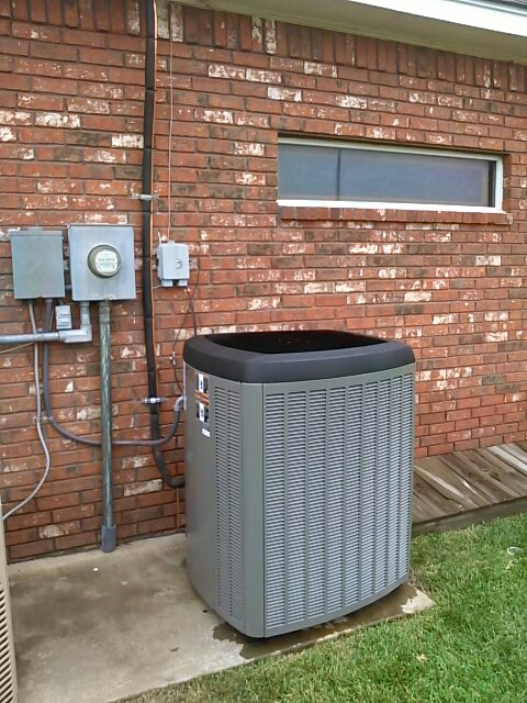 Canyon, TX - New installation of a XP25 Heat Pump