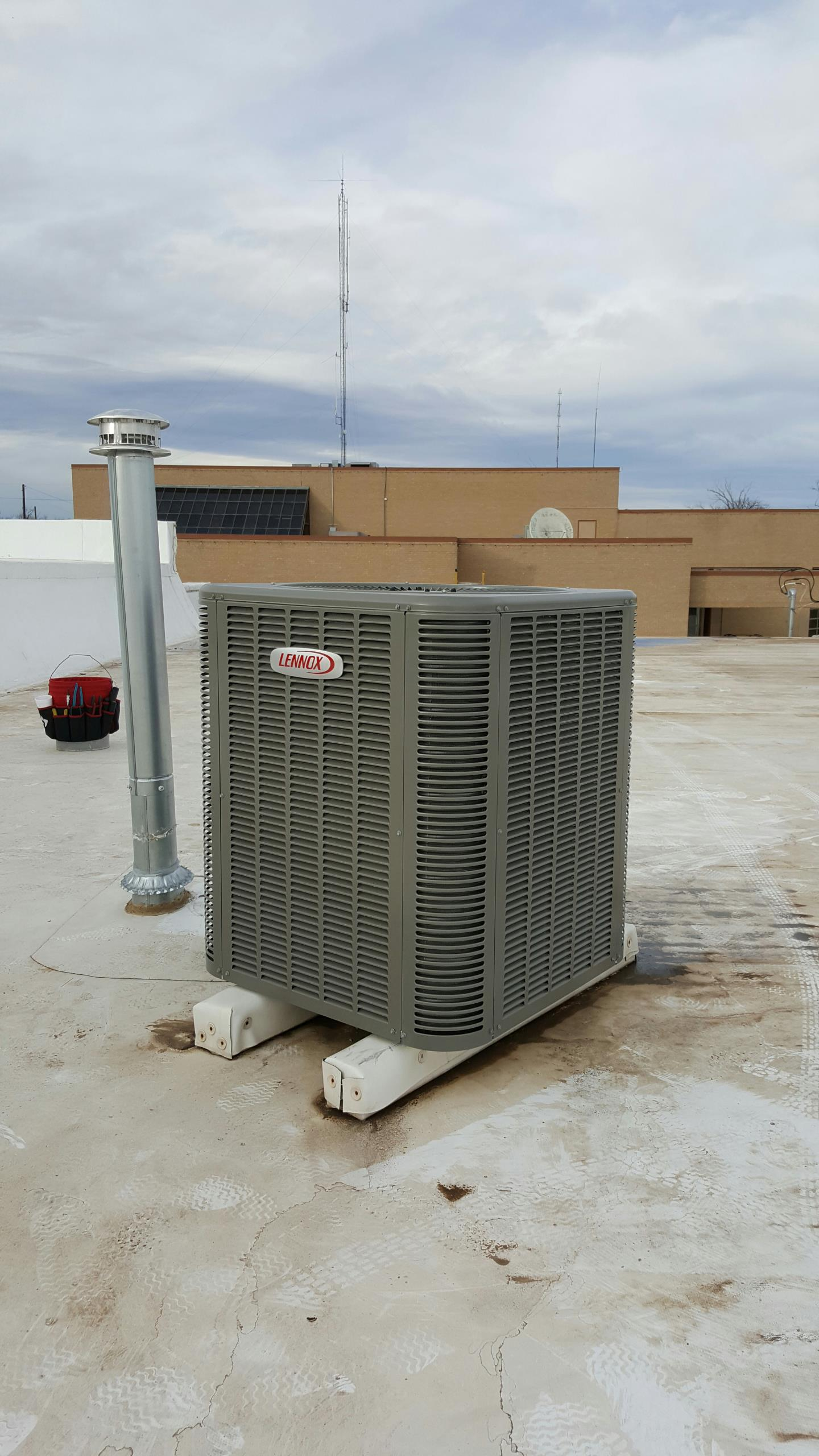 Canyon, TX - New Lennox air conditioner installed by Amarillo Air Conditioning.