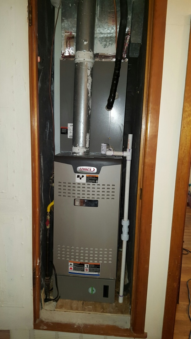 Amarillo, TX - New Lennox furnace installed by Amarillo Air Conditioning.