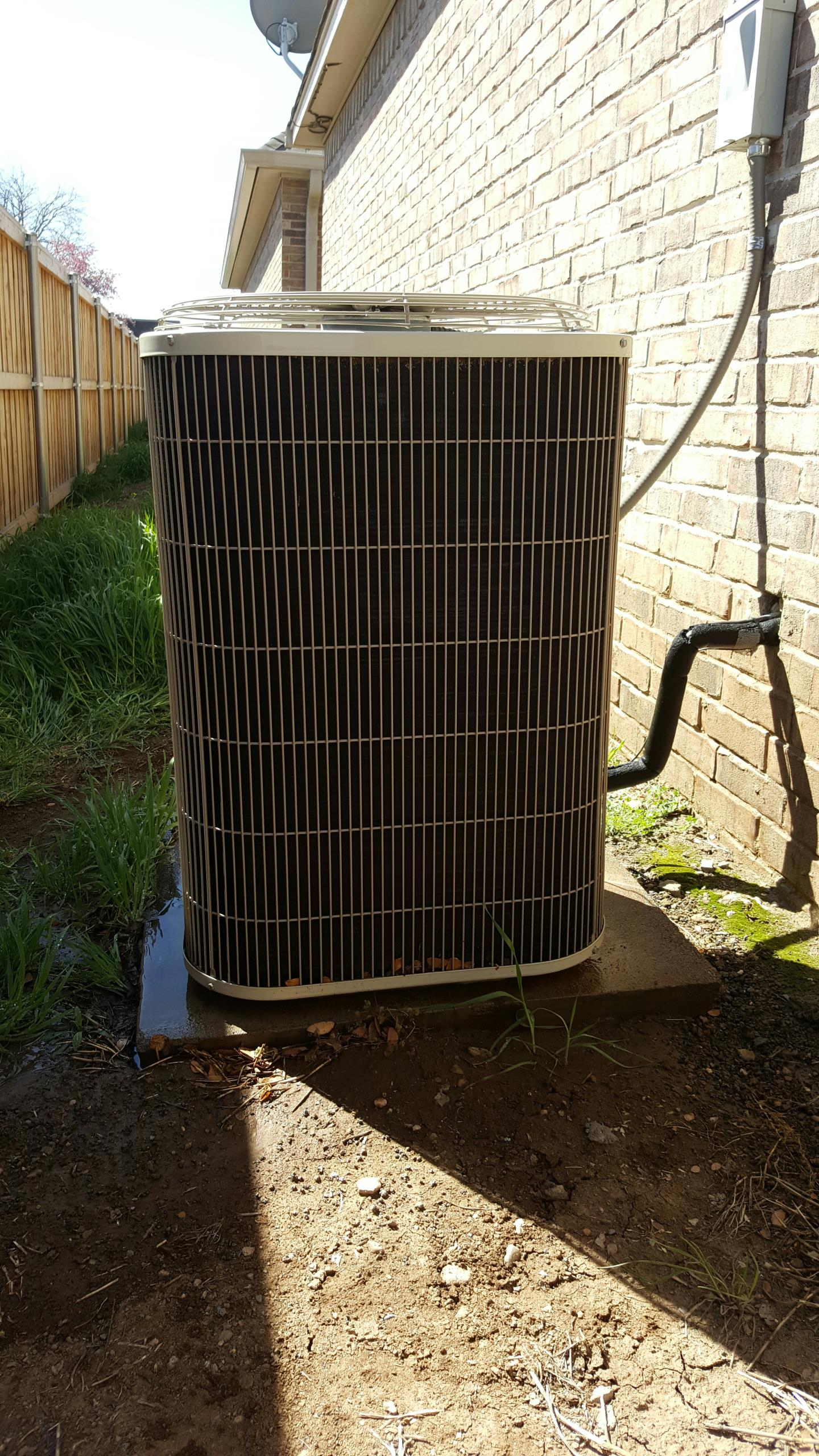 Amarillo, TX - Bryant condenser spring check-up and tune-up.