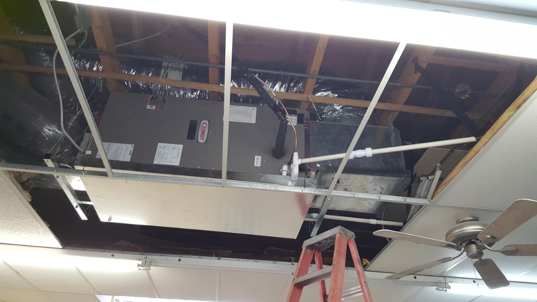 Canyon, TX - New commercial cooling system installation.