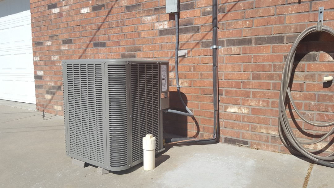Amarillo, TX - New Lennox heating and air conditioning system installation.