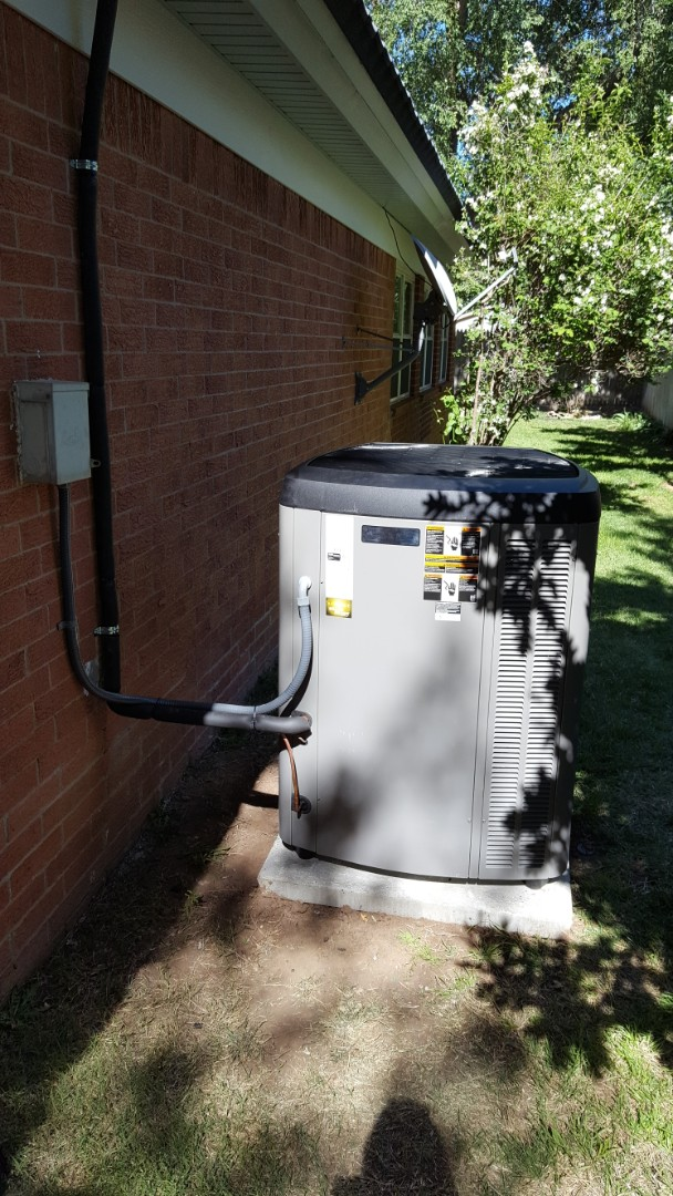 Amarillo, TX - New Lennox high efficiency heating and cooling system installation