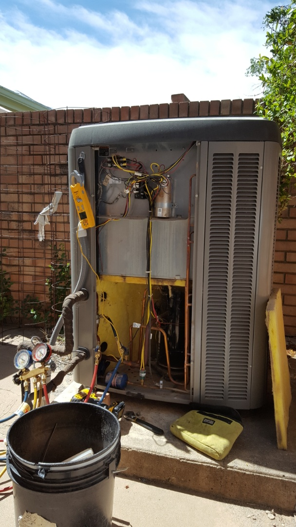 Canyon, TX - AC cooling check and tune up.