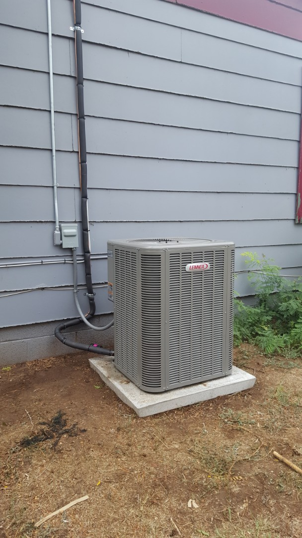 Amarillo, TX - New Lennox heating and cooling system installation