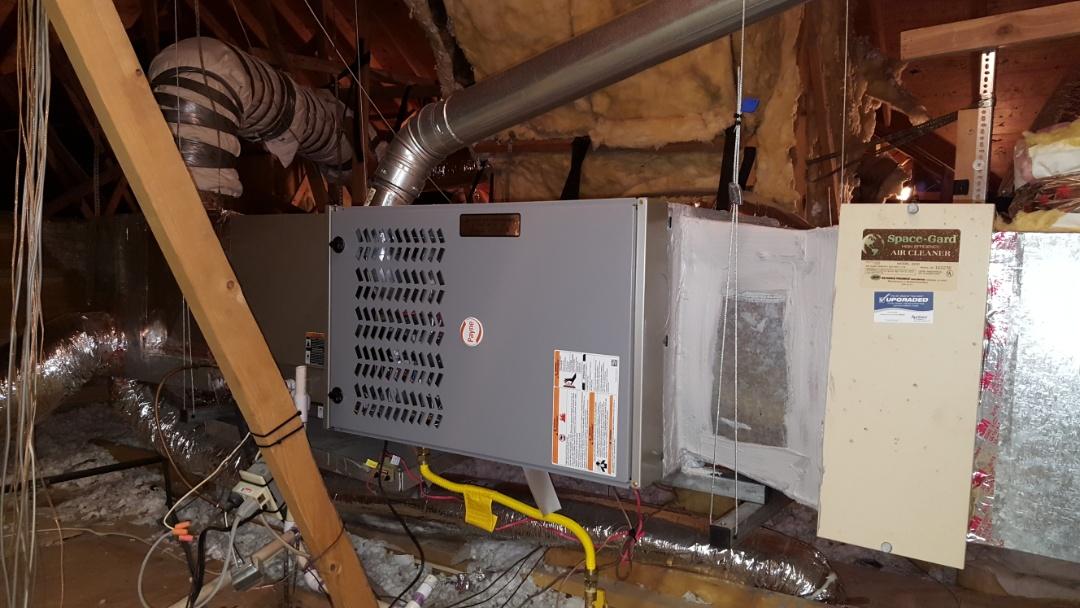 Amarillo, TX - New furnace installation