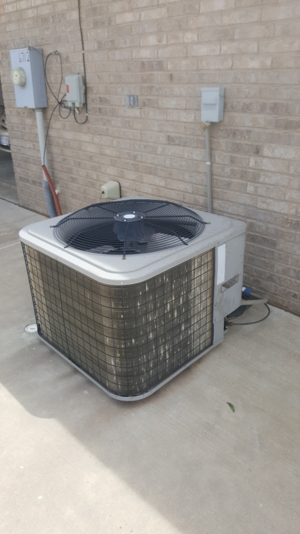 Amarillo, TX - Older units need some love too! Cooling check on a Payne unit