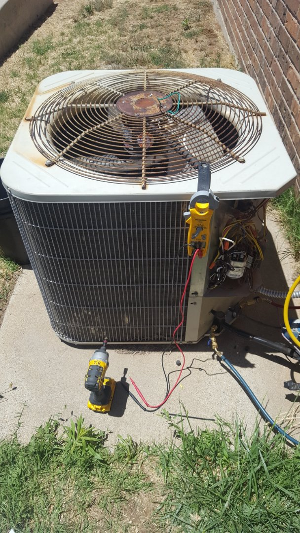 Amarillo, TX - Payne heatpump repair.