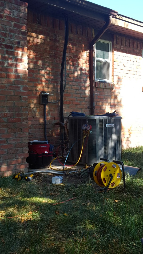 Amarillo, TX - AC Indoor coil replacement