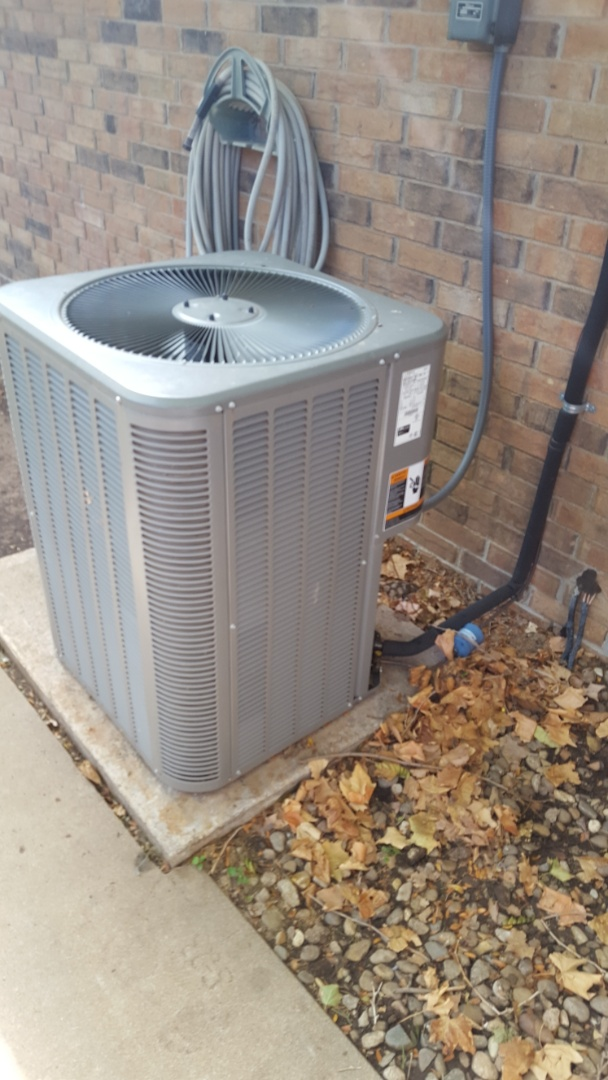 Amarillo, TX - Contactor replacement on air conditioner