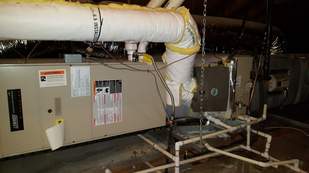 Amarillo, TX - Furnace heating check, humidifier service and UV bulb replacement