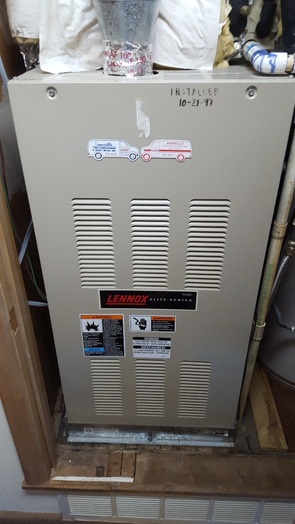 Amarillo, TX - Furnace Heating check