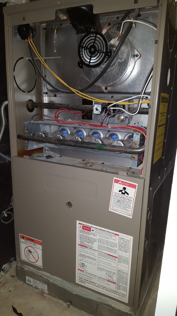 Amarillo, TX - Goodman furnace heating system check