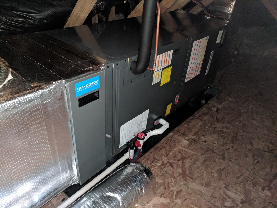 Ocean Pines, MD - Installed Arctic Air 2 stage heat pump system with 2 zones in a home in Dagsboro De