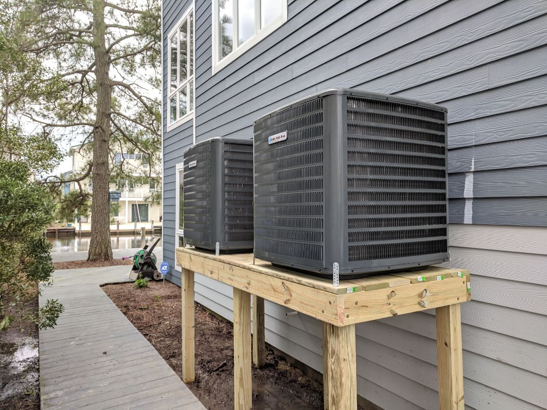 Bethany Beach, DE - Installed 2 Arctic Air heat pump systems in a customer's home Bethany Beach de