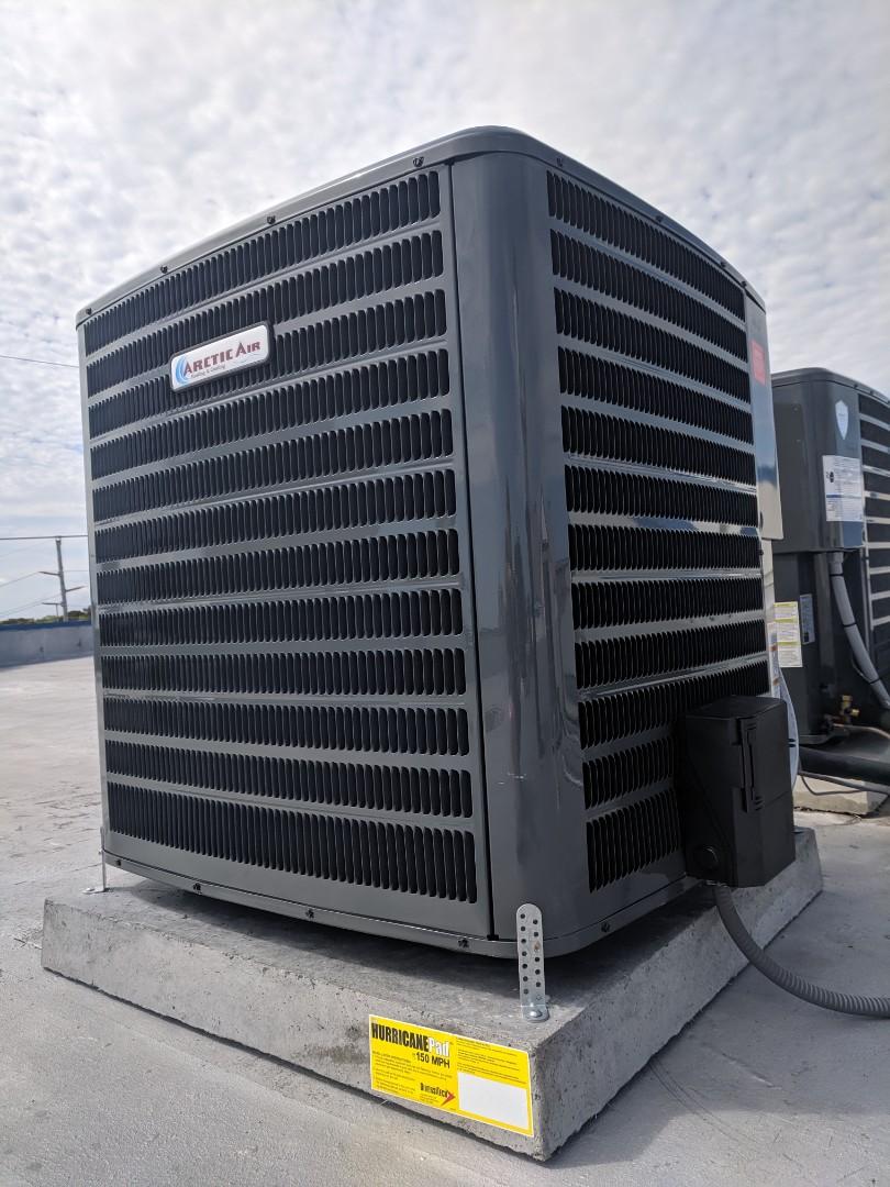 Ocean City, MD - Installed Arctic Air heat pump system in ocean City MD