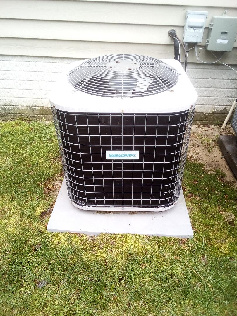 Lewes, DE - Precision tune up- Comfortmaker 1.5 ton heat pump