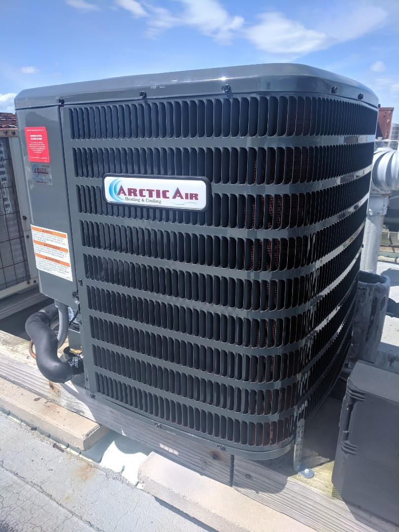Ocean Pines, MD - Installed Arctic Air AC with electric heat in an ocean city condominium