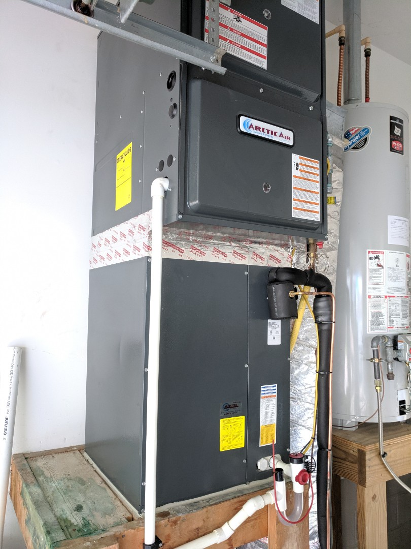 Berlin, MD - Installed Arctic Air gas furnace and AC in ocean pines MD