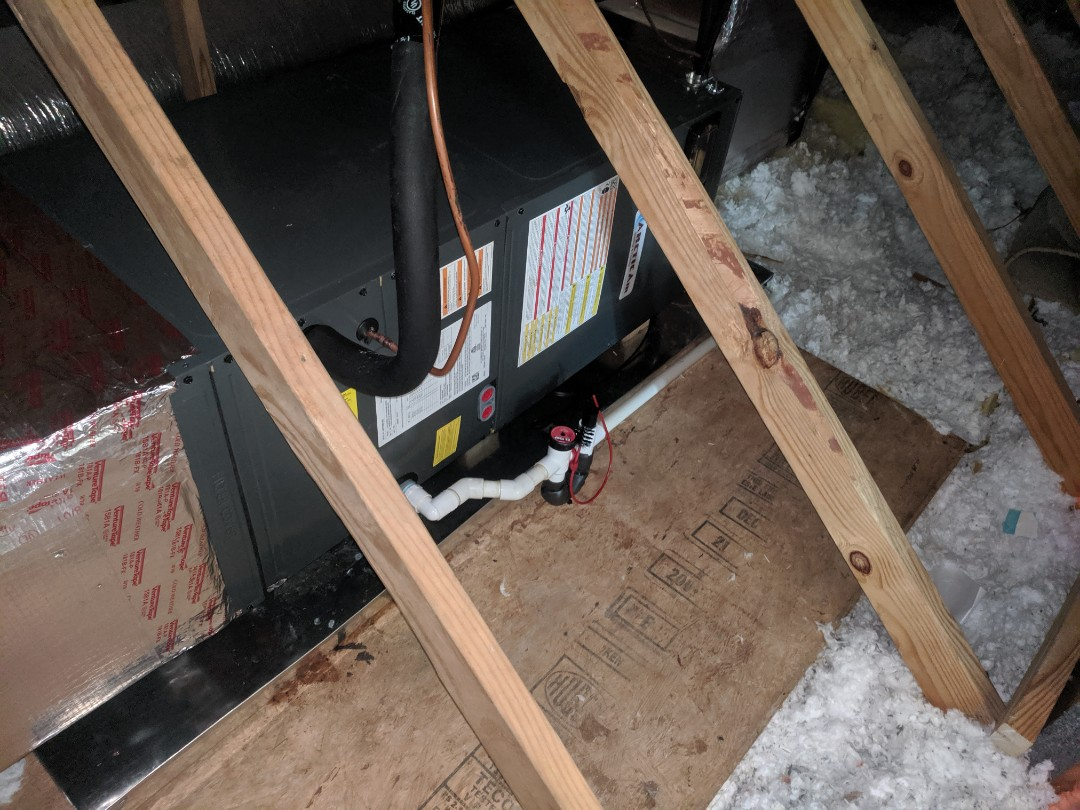 Ocean Pines, MD - Installed Arctic Air heat pump system in ocean pines MD