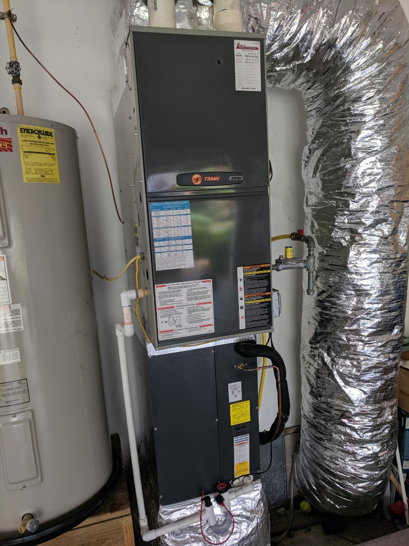 Berlin, MD - Installed new AC and coil
