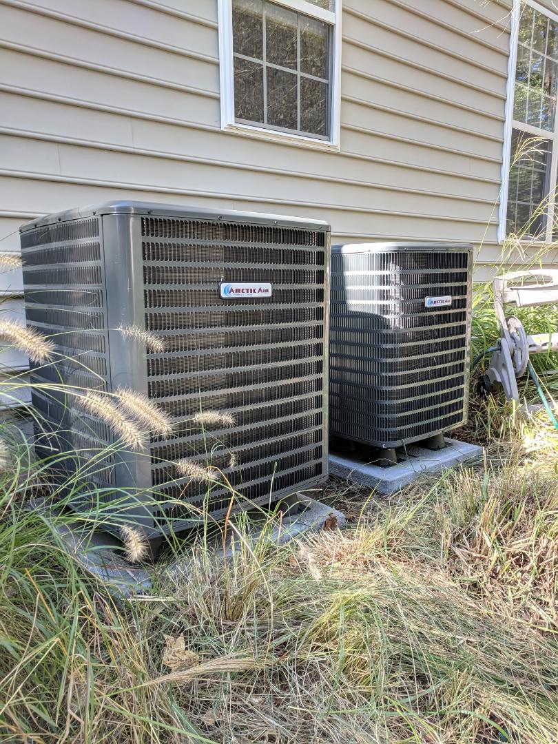 Ocean Pines, MD - Installed heat pump and ac
