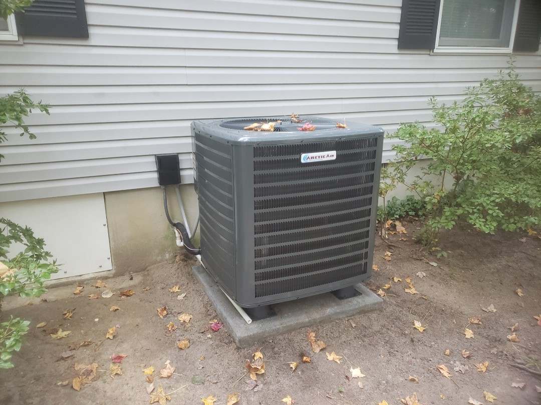 Ocean Pines, MD - Installing a new 16 seer heatpump system in a single family home in Ocean Pines MD
