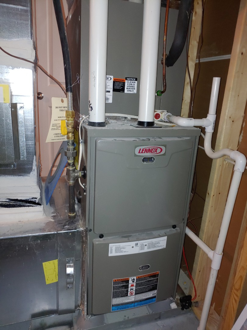 Millsboro, DE - Precision tune up- Lennox 70,000 btu condensing gas furnace