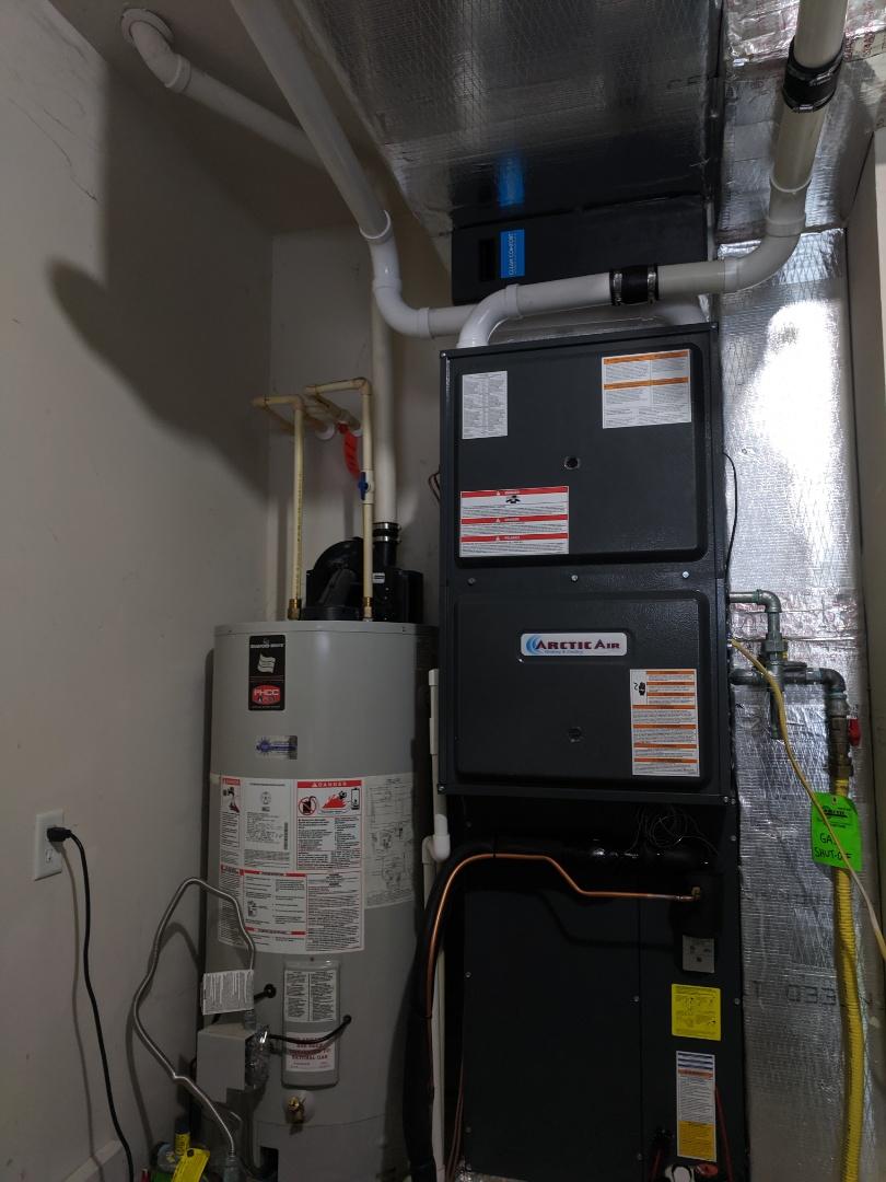 Berlin, MD - Installed gas furnace