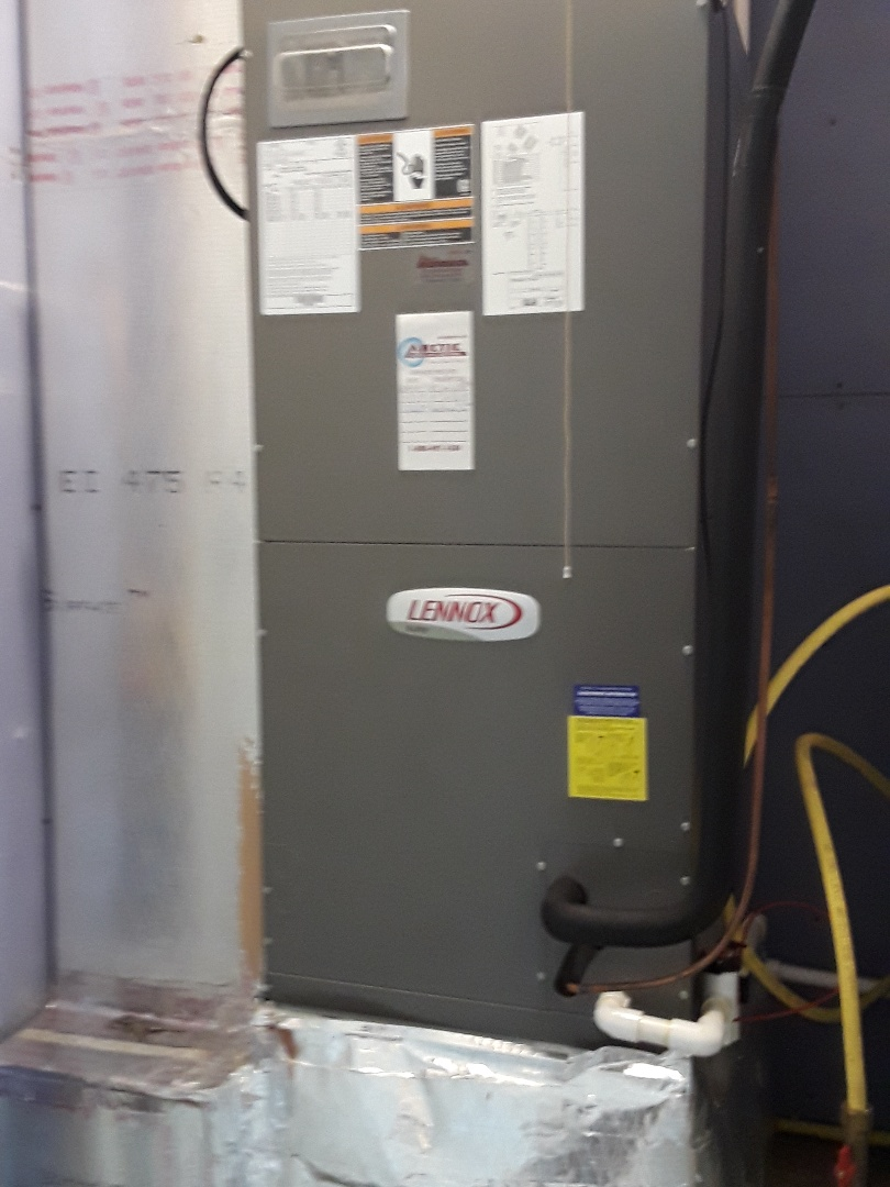 Performing fall maintenance on a Lennox Heat Pump system in Sunset Island ocean city md 21842.