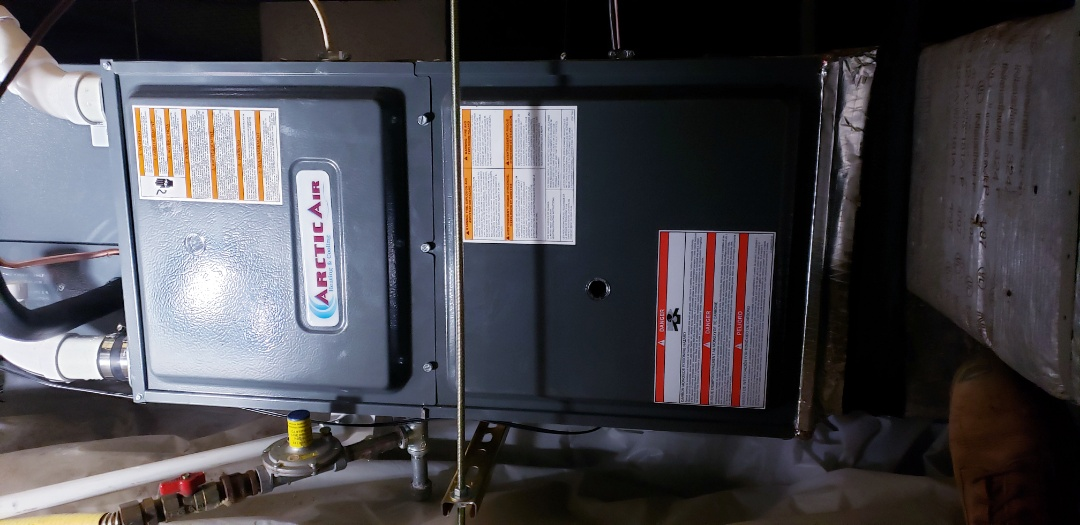 Ocean Pines, MD - Installed Arctic Air furnace in ocean pines berlin  md.