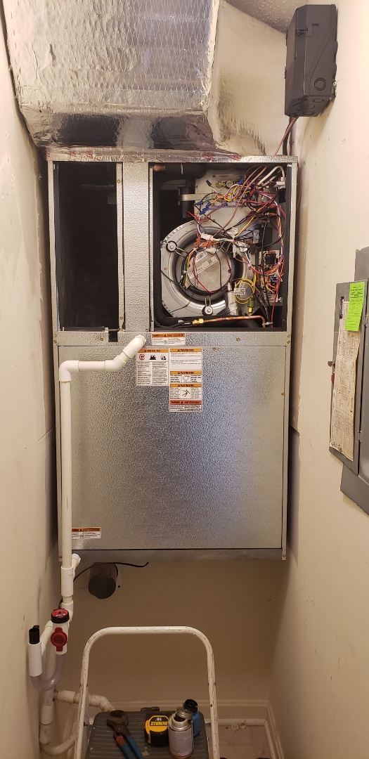 Ocean City, MD - Installed 16 seer EWC unit in ocean city md. 21842. By Arctic heating and air.