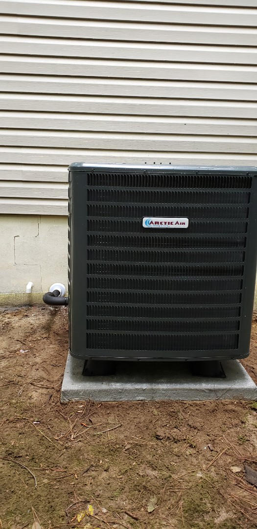 Ocean Pines, MD - Installed arctic heat pump in ocean pines md.