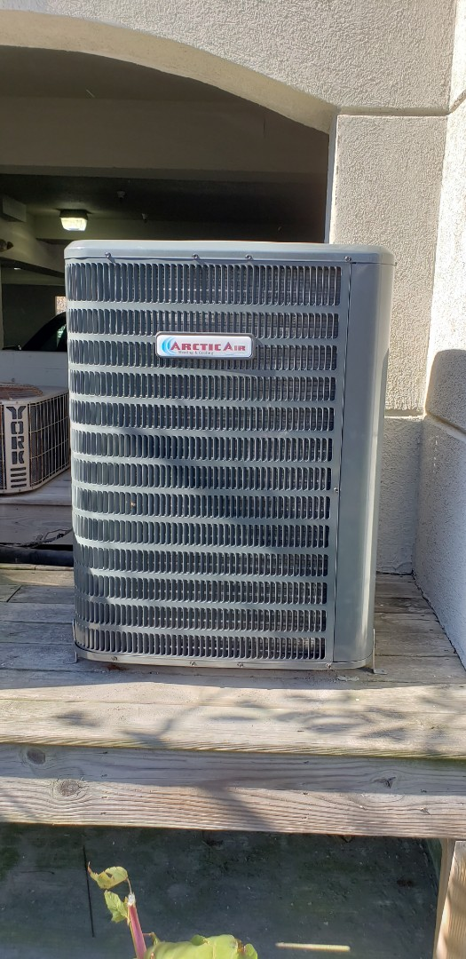 Berlin, MD - Performed Installation of a new Arctic Air heat pump for a family in Ocean City, MD at Sunset Island.