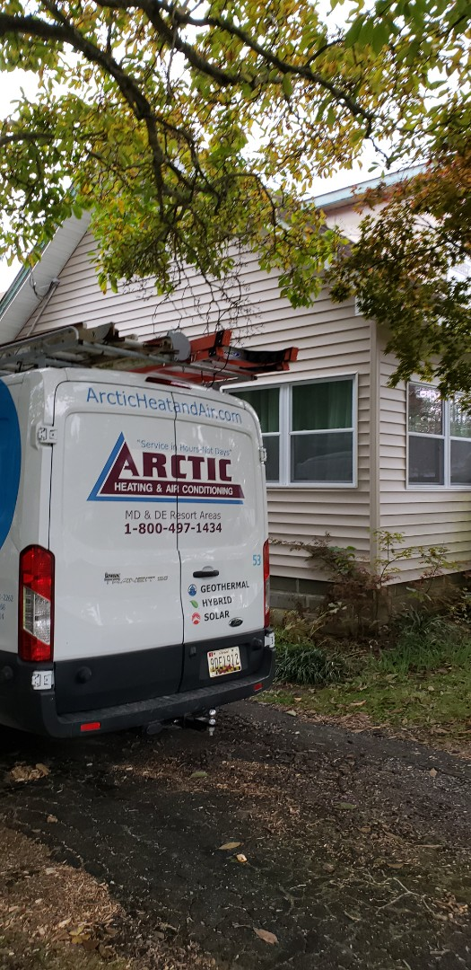 Berlin, MD - Sealed duct work, properly balanced air in historic home , located in the coolest historic small towns in worchest county. Berlin Md.