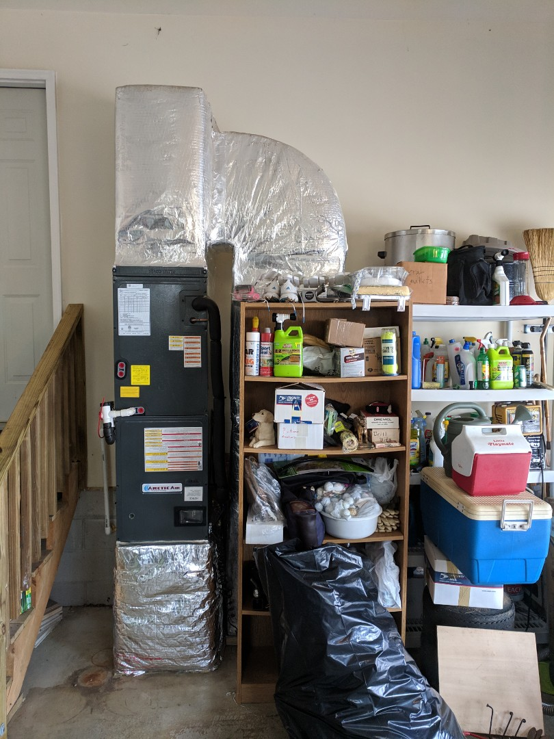 Berlin, MD - Installed 2 Arctic Air Heat pump systems at a home in Berlin Md