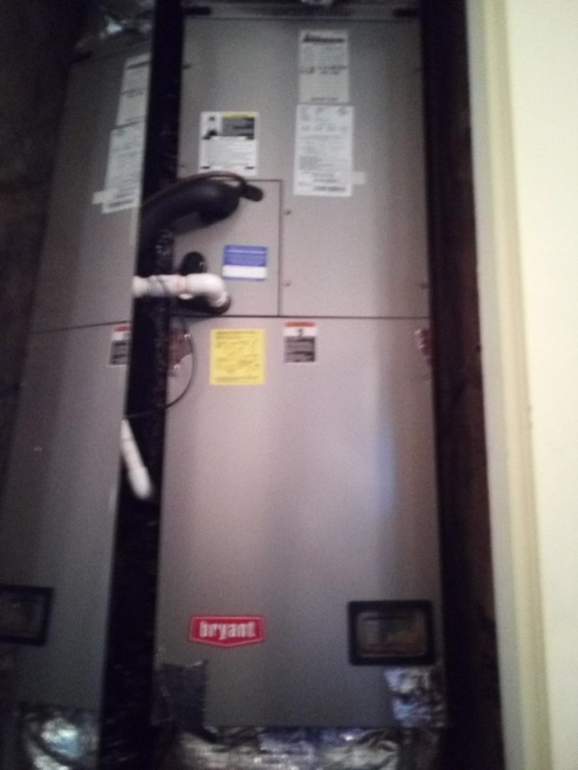 Precision tune up - Bryant Heat Pump