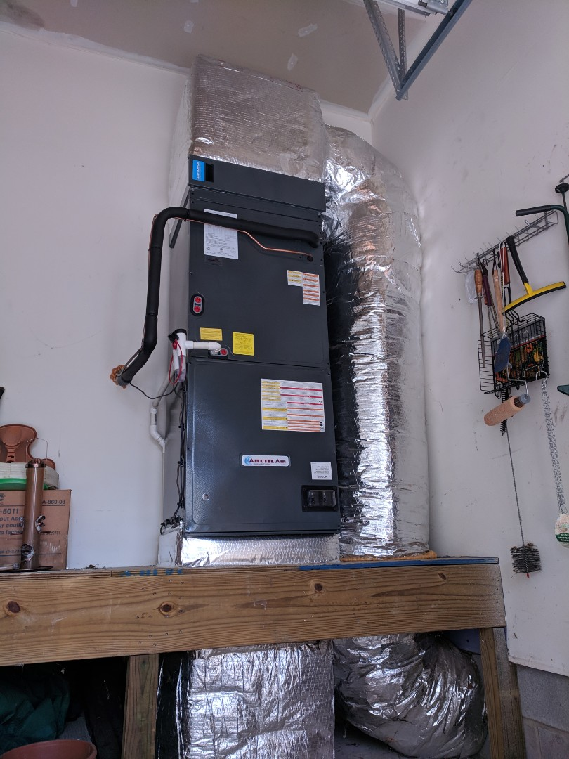 Berlin, MD - Installed 2 Arctic Air heat pump systems in a home I. Berlin MD