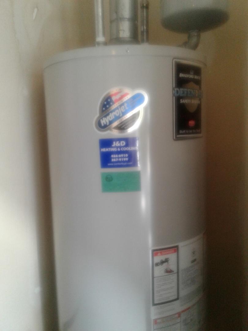 Caldwell, ID - Hot water tank repair