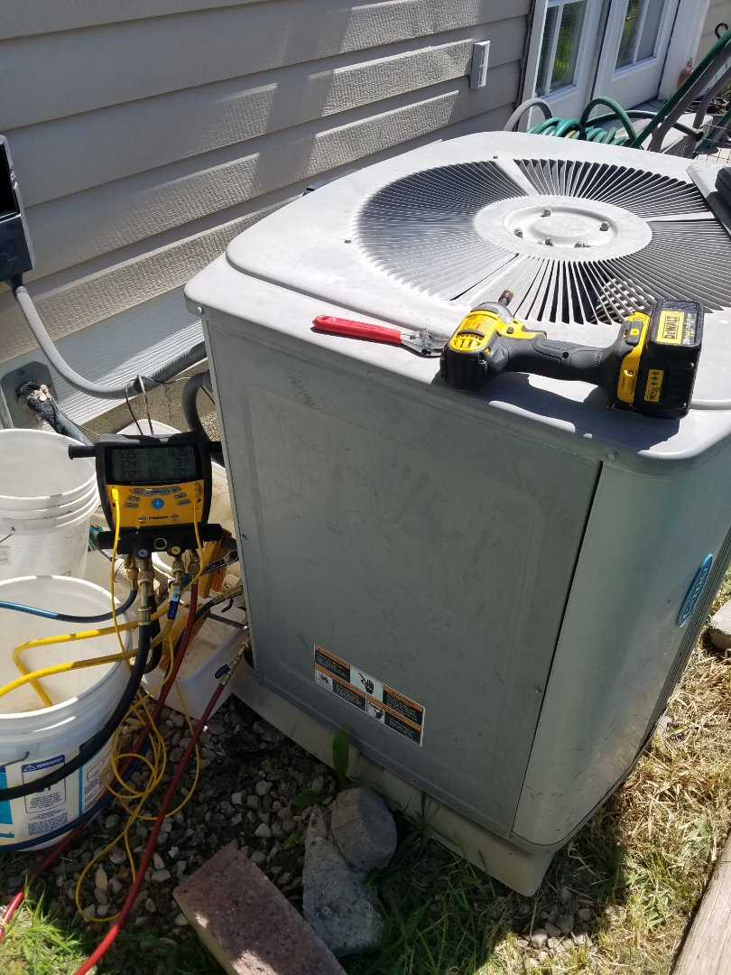 Riverton, UT - AC tune up on Carrier air conditioner