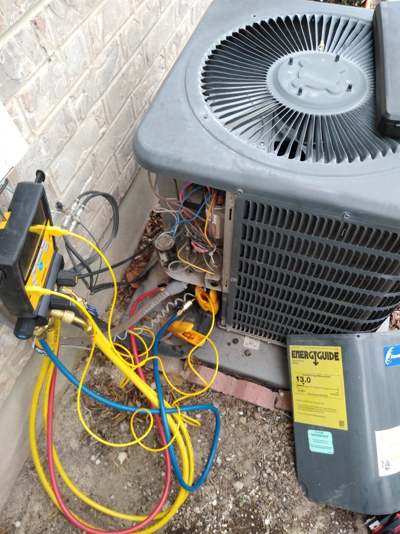 South Jordan, UT - Air conditioning check on Goodman air conditioner