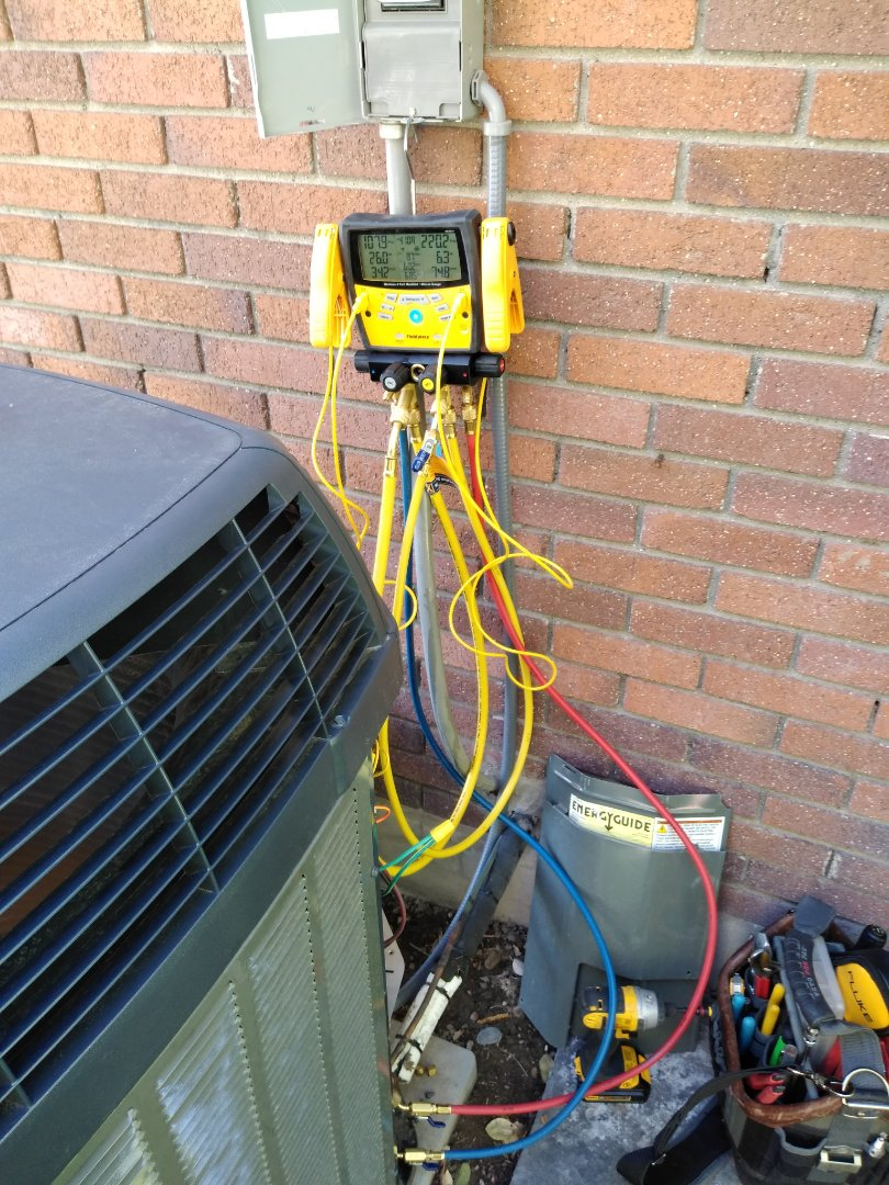 Taylorsville, UT - AC tune-up on Trane air conditioner