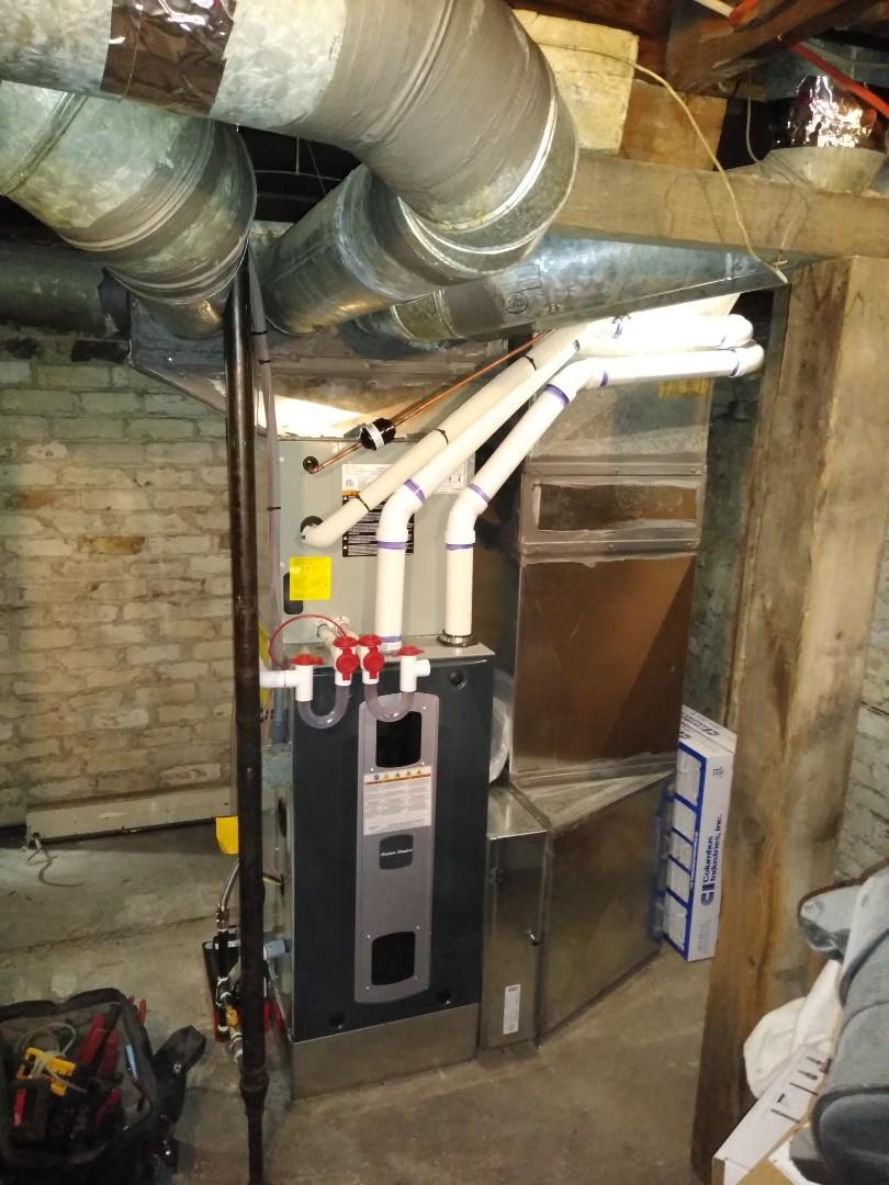 Salt Lake City, UT - Install high efficiency American Standard furnace and AC