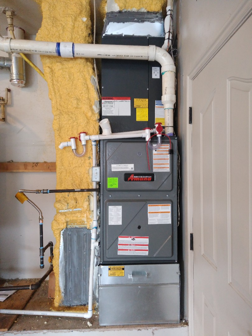 West Jordan, UT - Installed new furnace and A/C