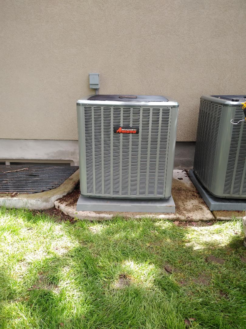 Draper, UT - Installed New A/C